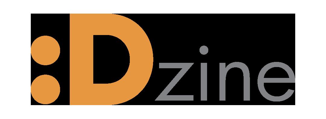 Λογότυπο του συνεργάτη μας D-zine. Η εικόνα λειτουργεί επίσης και σαν σύνδεσμος